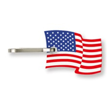 USA Flag Zipper Pulls