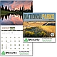 National Parks Calendar for 2019